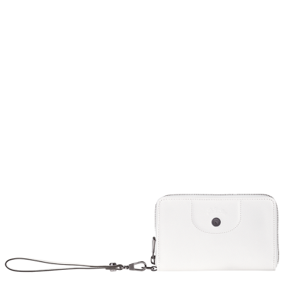 Portefeuille compact Blanc