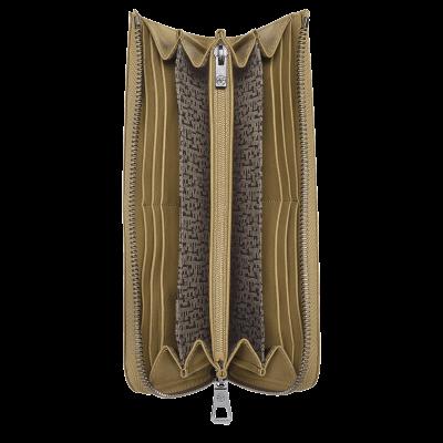 Portefeuille long zippé