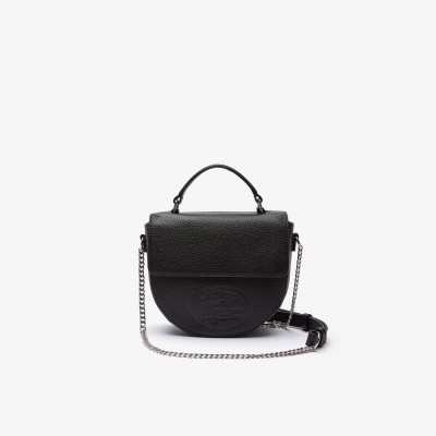 ROUND TOP HANDLE CROSSOVER BAG